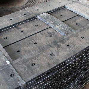 Rubberstrip met staalinlage