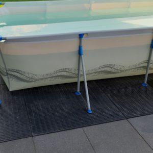 Rubbermatten zwembad
