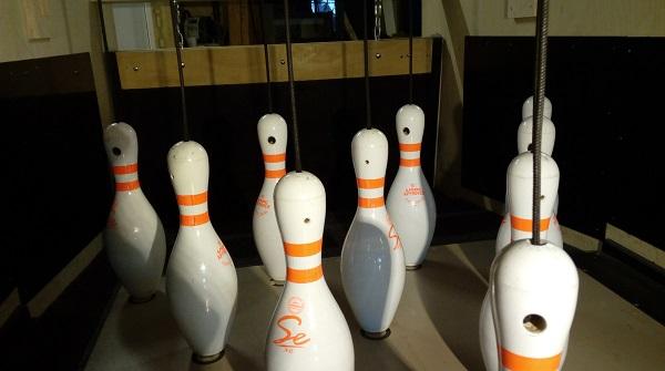 Rubber bowlingbaan
